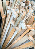 Деревянные шпаги игрушки Стоковое Изображение