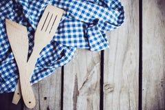 Деревянные шпатели Стоковое Фото