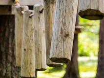 Деревянные штыри стоковая фотография