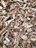 Деревянные Chippings расшивы Стоковое Изображение