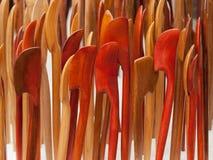 Деревянные hairpins Стоковое фото RF