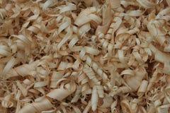 Деревянные shavings Стоковое Изображение RF