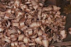 Деревянные shavings Стоковая Фотография RF