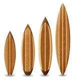 Деревянные surfboards Стоковые Фото