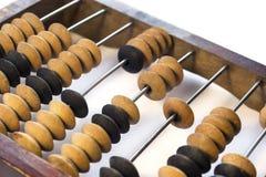 Деревянный абакус Стоковое фото RF