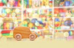 Деревянный автомобиль Стоковое фото RF