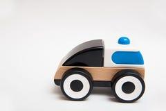 Деревянный автомобиль игрушки Стоковое фото RF