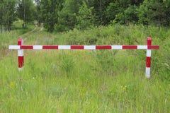 Деревянный барьер стоковое изображение