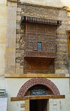 Деревянный балкон Стоковое Фото