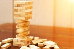 Деревянный блок стоковые изображения rf