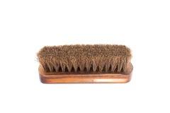 Деревянный блеск ботинка Стоковая Фотография