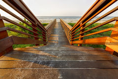 Деревянный вход Стоковая Фотография RF