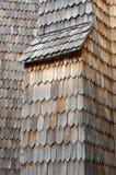 Деревянный гонт Стоковая Фотография RF