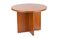 Деревянный журнальный стол Стоковая Фотография RF