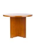 Деревянный журнальный стол Стоковое фото RF