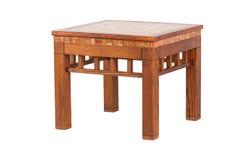 Деревянный журнальный стол Стоковые Фотографии RF