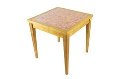 Деревянный журнальный стол Стоковые Фото