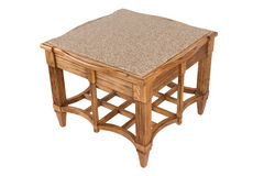 Деревянный журнальный стол Стоковое Изображение RF