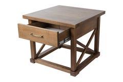 Деревянный журнальный стол Стоковая Фотография