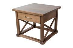 Деревянный журнальный стол Стоковые Изображения