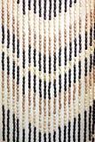 Деревянный занавес шарика Стоковое Изображение RF