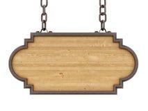 Деревянный знак Стоковые Фотографии RF