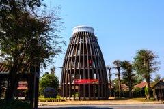Деревянный значок Вьетнам Стоковые Изображения