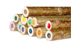 Деревянный карандаш стоковое фото