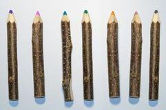 Деревянный карандаш стоковое изображение rf
