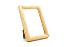 Деревянный картинной рамки Стоковые Изображения