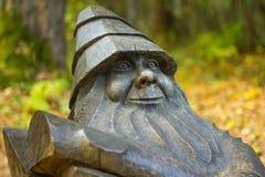 Деревянный карлик Стоковые Фотографии RF