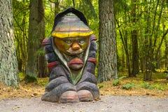 Деревянный карлик Стоковая Фотография RF