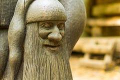 Деревянный карлик Стоковое фото RF
