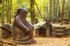 Деревянный карлик Стоковое Изображение