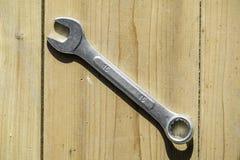 деревянный ключ Стоковое Изображение