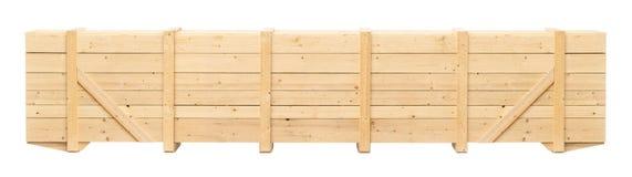 Деревянный контейнер стоковые фотографии rf