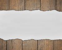 Деревянный космос предпосылки и текста Стоковые Изображения RF