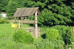 Деревянный колодец Стоковое фото RF