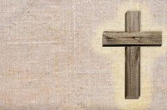 Деревянный крест стоковые фотографии rf