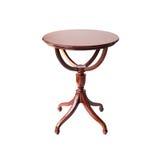Деревянный круглый стол Стоковая Фотография RF