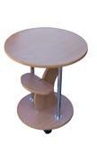 Деревянный круглый стол Стоковое Изображение RF