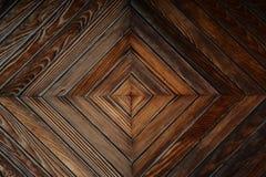 Деревянный крупный план двери Стоковое Изображение RF