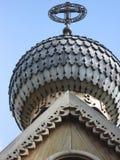 Деревянный купол церков Стоковые Фотографии RF