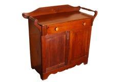 Деревянный кухонный шкаф Стоковые Изображения RF