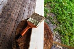 Деревянный материал Стоковое Изображение