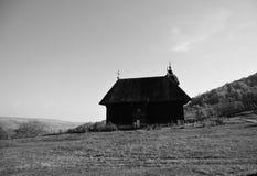 Деревянный монастырь Стоковая Фотография