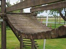 Деревянный мостк для детей Стоковые Фотографии RF