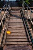 Деревянный мост Стоковые Изображения RF