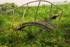 Деревянный мост для детей Стоковые Фото