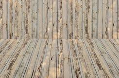 Деревянный обшивая панелями f Стоковое Изображение